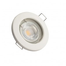 Fixed GU10 Down Light Fitting White