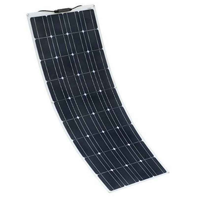 100W 18V Mono Semi Flexible  Solar Panel