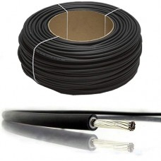 Solar Panel PV Cable DC Rated 4mm² in BLACK