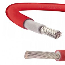Solar Panel PV Cable DC Rated 4mm² in RED