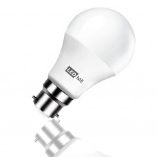 9W Energy saving LED bulb B22 bayonet in COOL WHITE 6000K (non-dimmable)