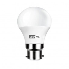 3.5W Energy saving LED bulb B22 bayonet in COOL WHITE 6000K (non-dimmable)