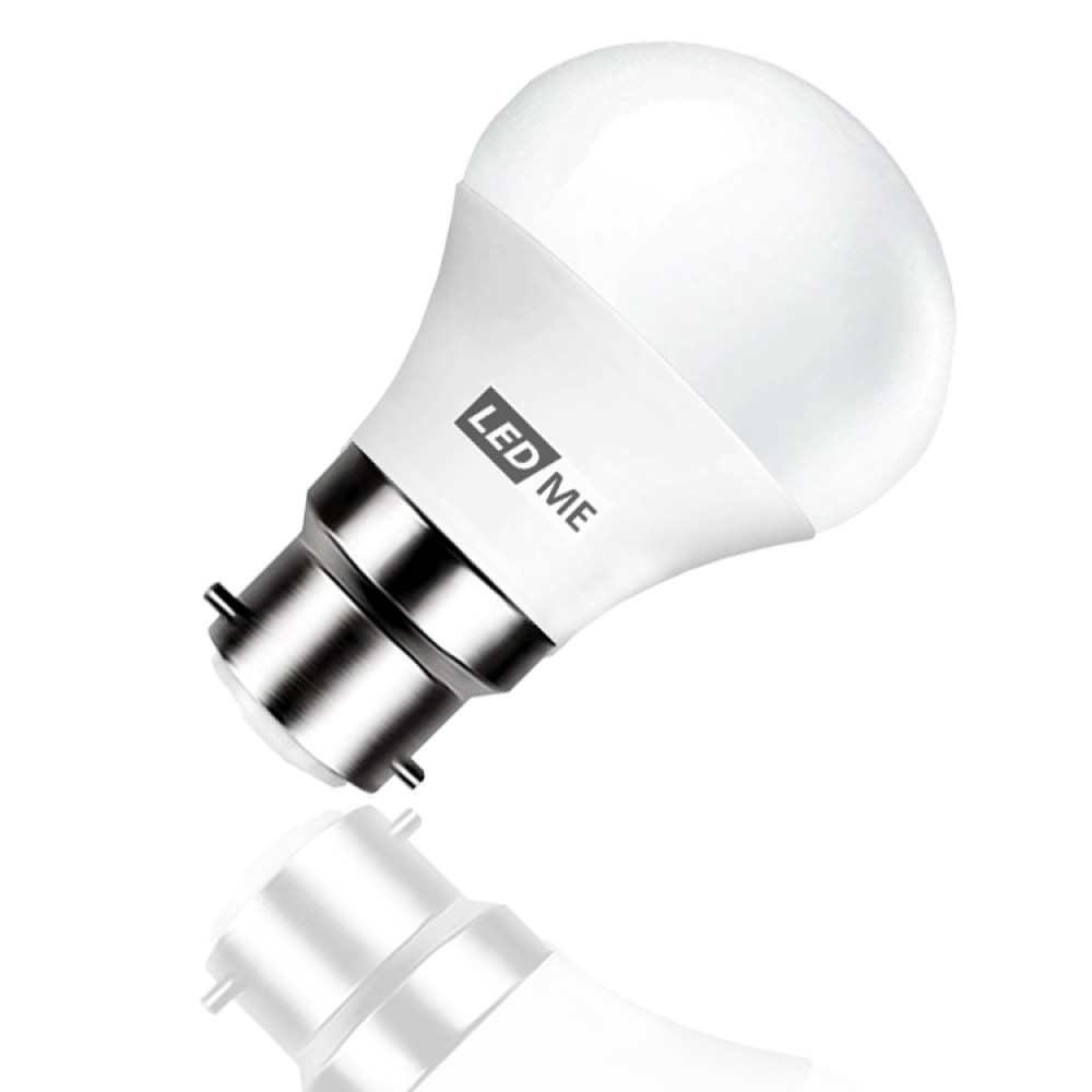 3 5w Energy Saving Led Bulb B22 Bayonet In Warm White 3000k Non Dimmable