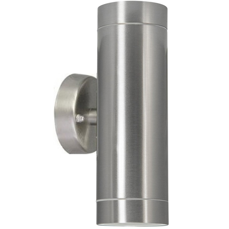 Stainless Steel Up Down Wall Light GU10 IP54 Double Outdoor Wall Light