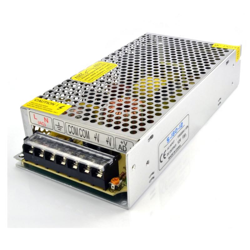 12V 16.5A 200W CONSTANT VOLTAGE POWER SUPPLY TRANSFORMER FOR LED STRIP CCTV