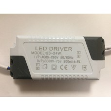 CONSTANT CURRENT LED DRIVER 300mA 20-24W 60-75V POWER SUPPLY TRANSFORMER