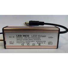 CONSTANT CURRENT LED DRIVER 600mA 48-54W 55-86V POWER SUPPLY TRANSFORMER for Ceiling Panels 600x600