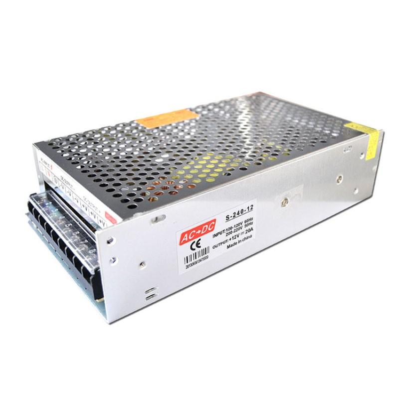 12V 20A CONSTANT VOLTAGE POWER SUPPLY TRANSFORMER FOR LED STRIP CCTV
