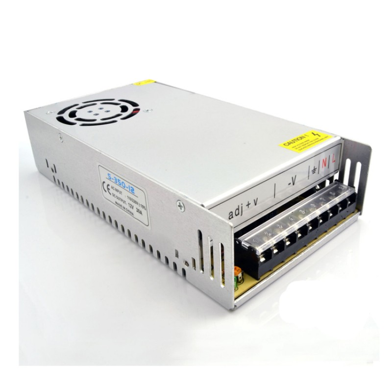 12V 30A CONSTANT VOLTAGE POWER SUPPLY TRANSFORMER FOR LED STRIP CCTV