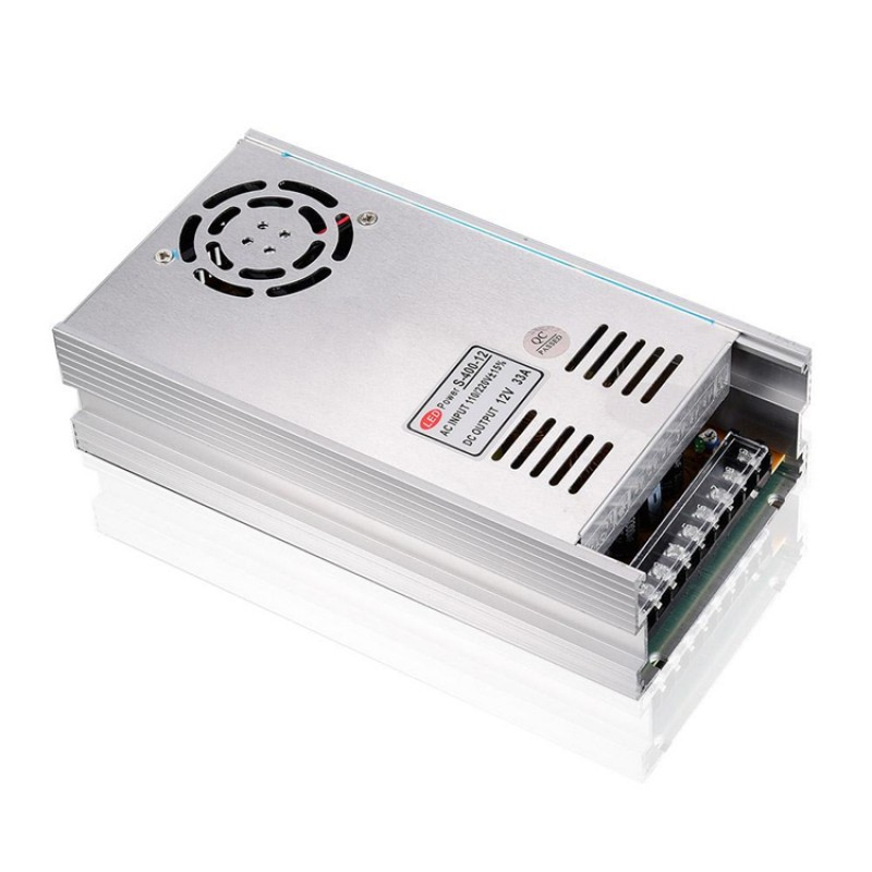 12V 33A CONSTANT VOLTAGE POWER SUPPLY TRANSFORMER FOR LED STRIP CCTV