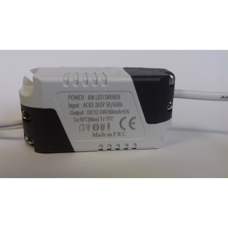 CONSTANT CURRENT LED DRIVER 260mA 6W DC 12-24V POWER SUPPLY TRANSFORMER