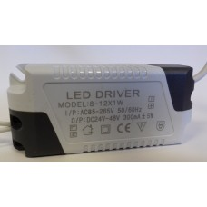 CONSTANT CURRENT LED DRIVER 300mA 8-12W 24-48V POWER SUPPLY TRANSFORMER