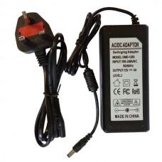 12V 5A 60W POWER SUPPLY ADAPTER TRANSFORMER FOR LED STRIP SMD5050 SMD3528 CCTV