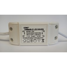 DIMMABLE CONSTANT CURRENT LED DRIVER 290mA 12W 27-42V POWER SUPPLY TRANSFORMER