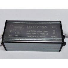 IP65 CONSTANT CURRENT LED DRIVER 300mA 12-18W DC 38-65V POWER SUPPLY TRANSFORMER