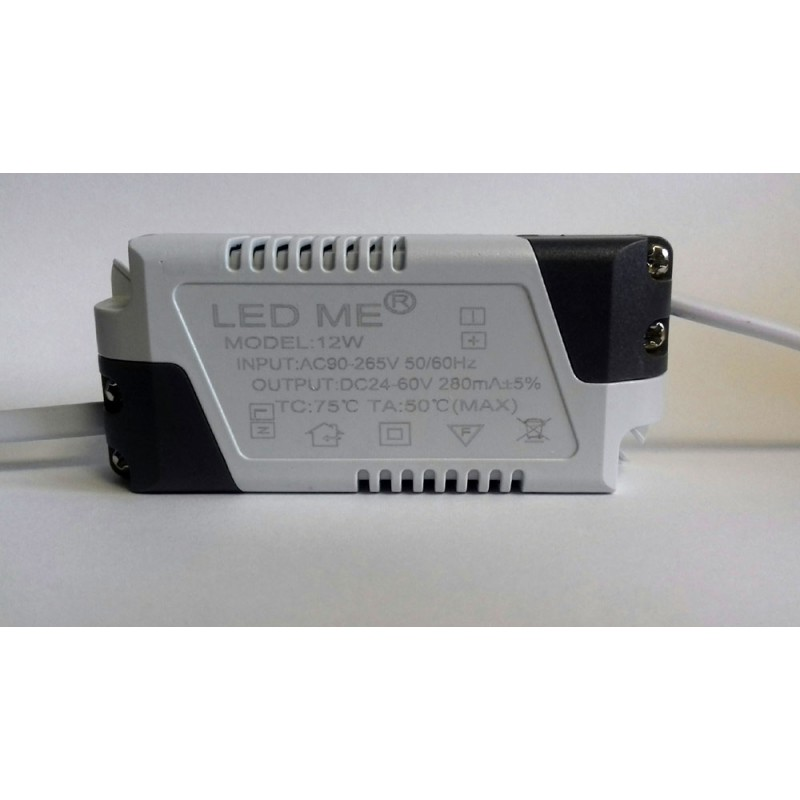 CONSTANT CURRENT LED DRIVER 280mA 12W 24-60V POWER SUPPLY TRANSFORMER