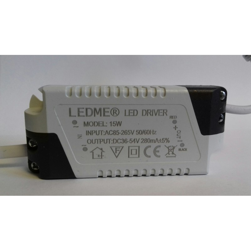 CONSTANT CURRENT LED DRIVER 280mA 15W 36-54V POWER SUPPLY TRANSFORMER
