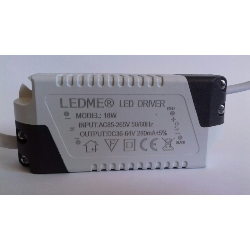 CONSTANT CURRENT LED DRIVER 280mA 18W 36-64V POWER SUPPLY TRANSFORMER