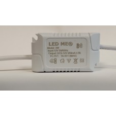 Dimmable Constant Curent Power Supply Transformer LED Driver Input  9-12VDC  Output  12V 3W 250mA