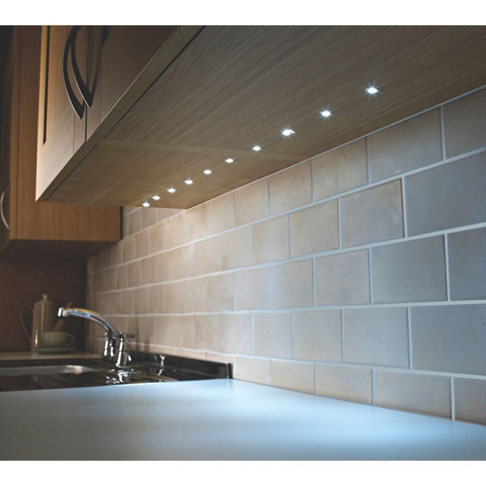 led deck lights kit set of 10 in cool white 6000k. Black Bedroom Furniture Sets. Home Design Ideas