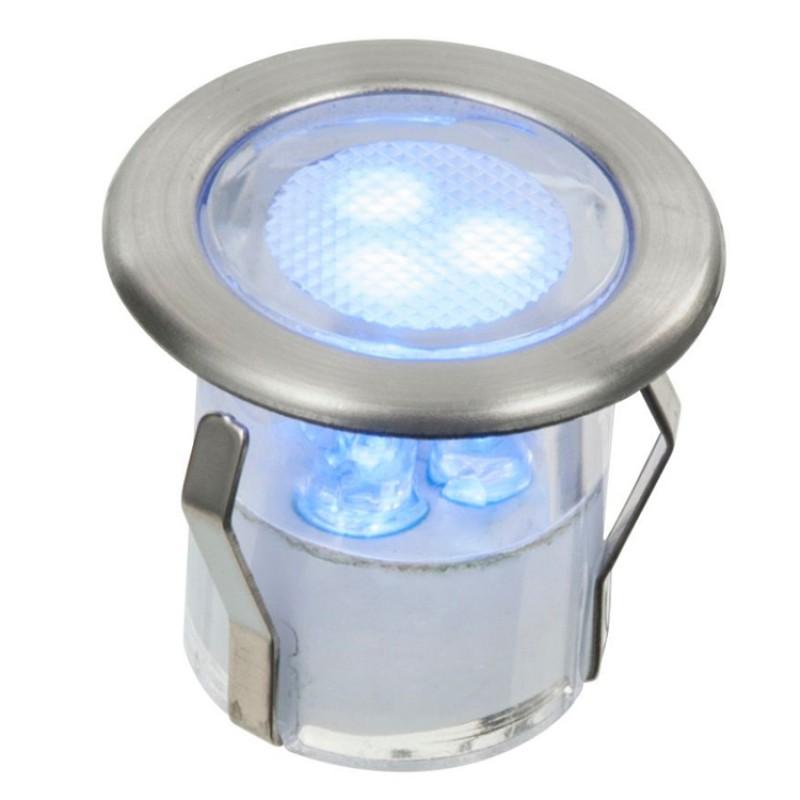 LED Deck Lights Kit set of 8 in Blue