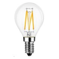E14 LED Filament Golfball 4W Glass bulb 360° beam angle