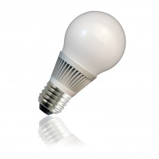 7W Energy saving LED bulb  E27 in WARM WHITE