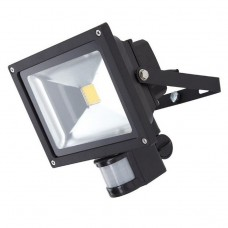 50W LED FLOOD LIGHT WITH PIR IN COOL WHITE