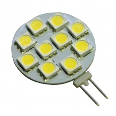 G4 2W 10SMD 5050 LED in Warm White
