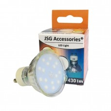 GU10 3.5W LED Bulb  Spot Lamps in COOL WHITE 24SMD in glass FROSTED cover