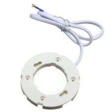 GX53 Plastic Base Holder Surface Fitting for GX53 LED and CFL