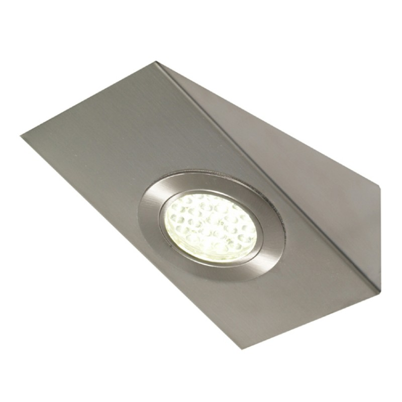 KITCHEN UNDER CABINET WEDGE 2.5W LED LIGHT IN WARM WHITE 3200K