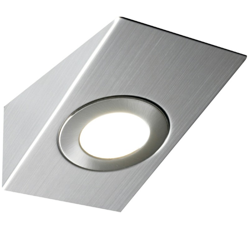 Kitchen Under Cabinet Round 2.5W LED Light in Cool White 6000K