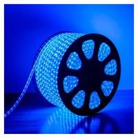 240V LED Strips Light 3528 SMD 60 per metre Waterproof IP65 Blue