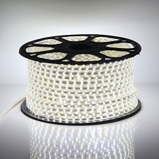240V LED Strips Light 3528 SMD 60 per metre Waterproof IP65 Cool White 6000K