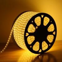 240V LED Strips Light 3528 SMD 60 per metre Waterproof IP65 Warm White 3200K