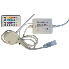 Music Controller for 220V LED RGB Strip 5050 with remote