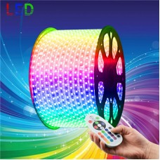 240V LED RGB Strips Light 5050 SMD 60 per metre Waterproof IP65