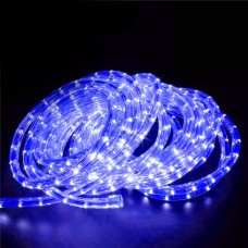 240V LED Rope Light 36 LED  per metre Waterproof IP65 Blue