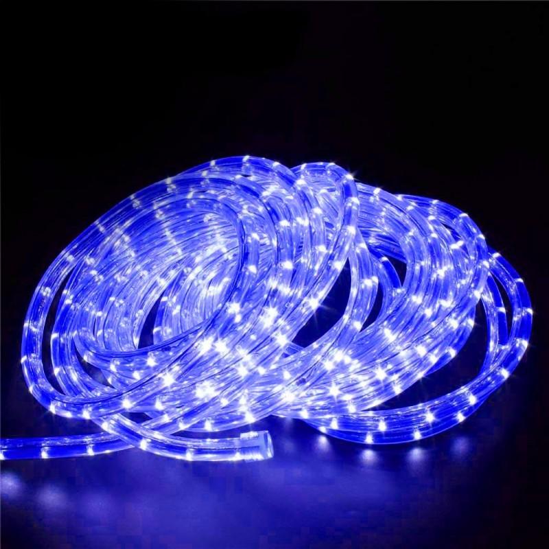 240V LED Rope Light 36 LED  per metre Waterproof IP65 Blue