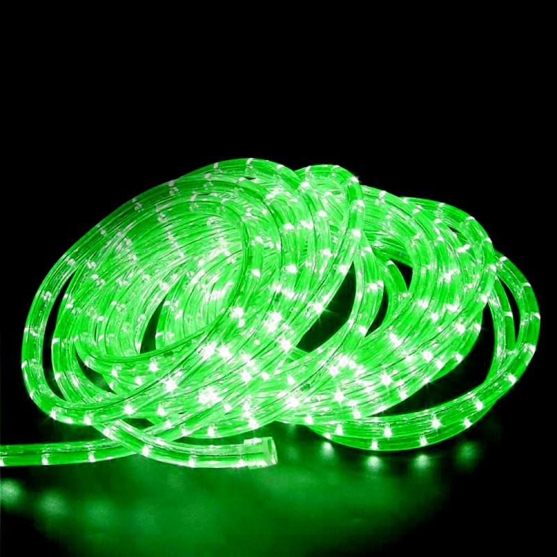 240V LED Rope Light 36 LED  per metre Waterproof IP65 Green