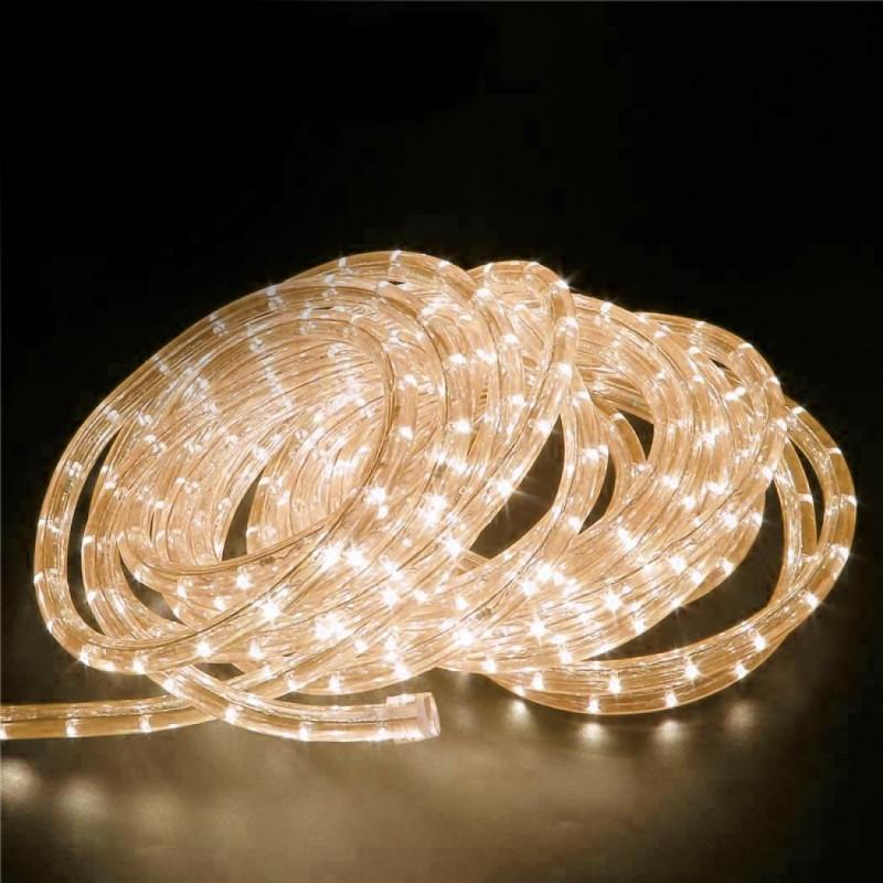 240V LED Rope Light 36 LED  per metre Waterproof IP65 Warm White 3200K