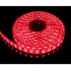 5M Single Colour Flexible LED 3528 SMD Lights IP21 in RED