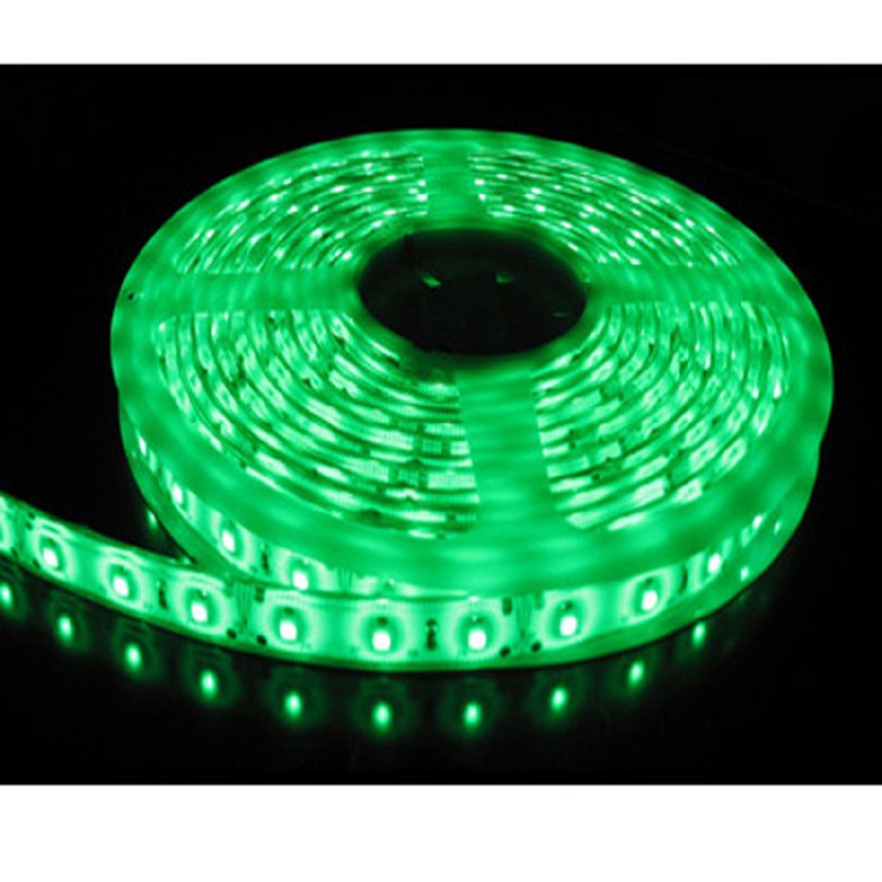 5M Single Colour Flexible LED 5050 SMD  Lights IP65 WATERPROOF in GREEN