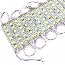 20 X LED Module 6 SMD 5050 Strip Waterproof Strip Band DC 12V in Cool  White IP65