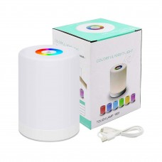 Bedside Table Lamp  RGB LED Color Changing  for Children / Camping
