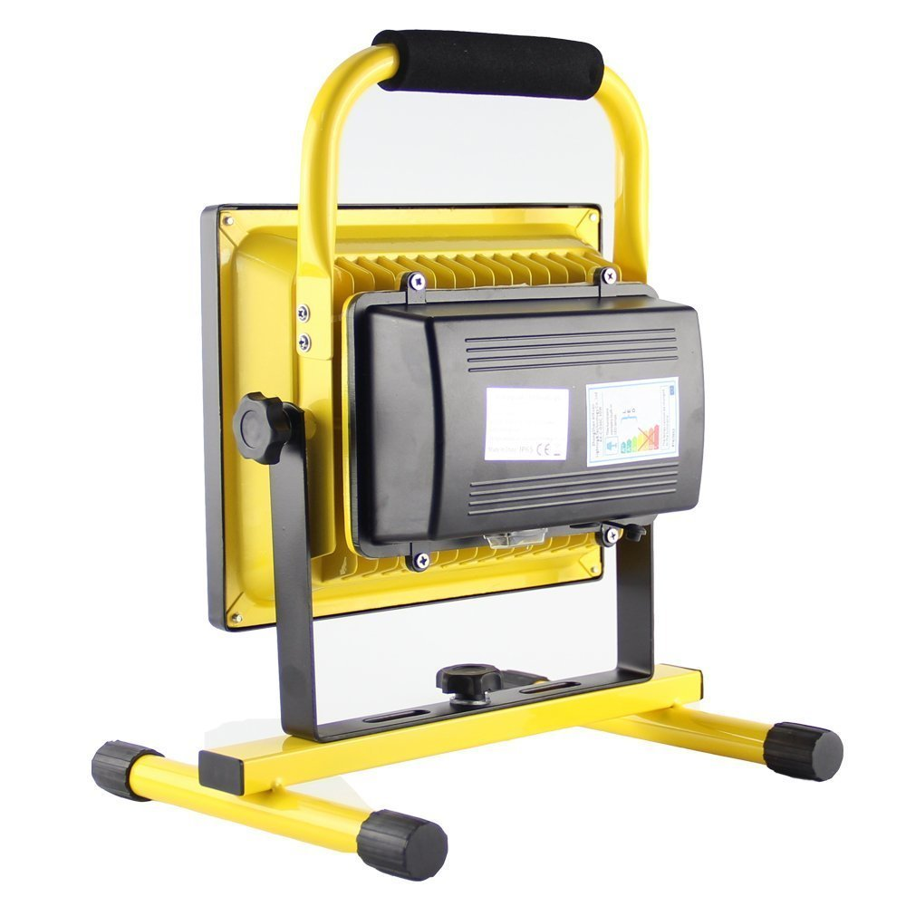 30w led portable rechargeable flood light with bracket in ...