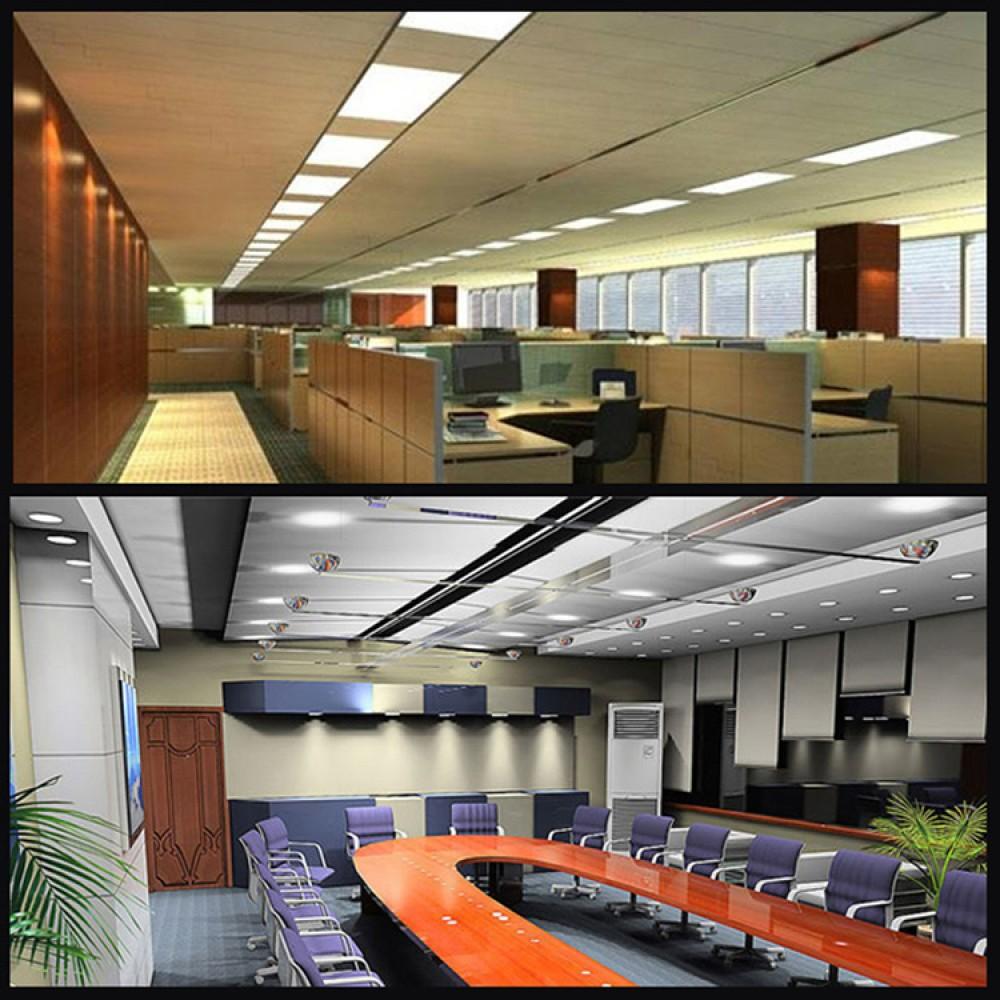 72w Led Panel Light Recessed 1200x600 Ceiling Modular
