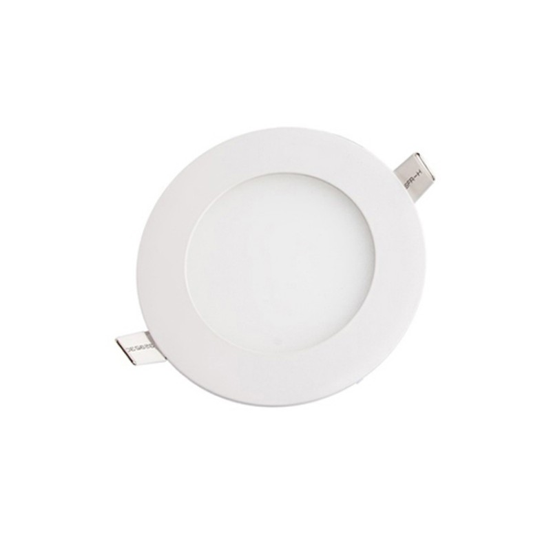 6W Round Recessed Ultra-slim Ceiling LED Light Lamp in Cool White