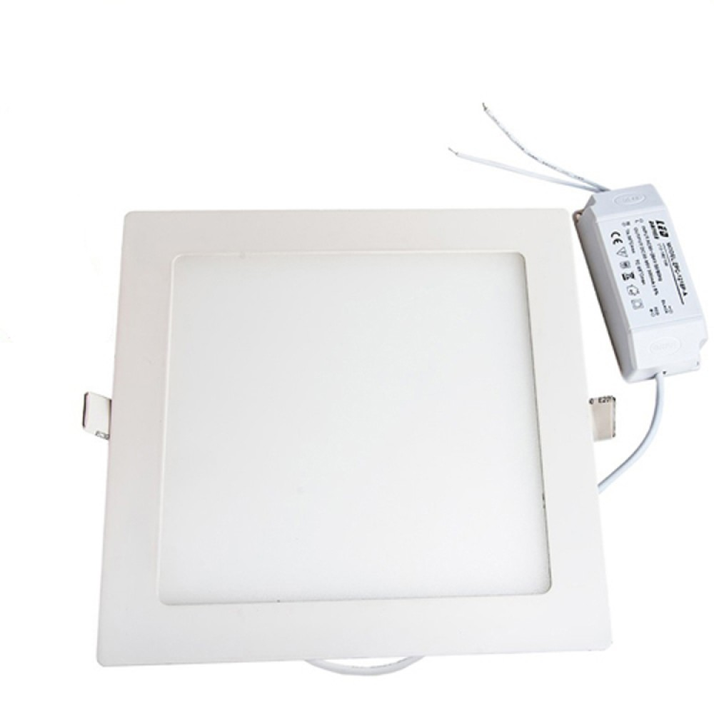 Dimmable 18w Square Recessed Ultra Slim Ceiling Led Light